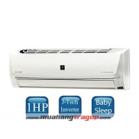 Máy lạnh Sharp AH-XP10SHW (1HP Inverter)