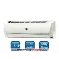 Máy lạnh Sharp AH-XP13SHW (1.5 HP Inverter)