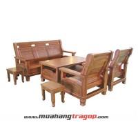 Bàn ghế Salon XC 31 (6 chỗ) gỗ Huỳnh Giáng Hương