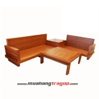 Bàn ghế Salon gỗ HN6