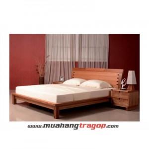 Giường gỗ tự nhiên Quang Phương GN-057