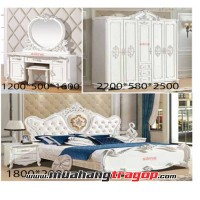 Bộ giường tủ QUEENSTOWN-A21