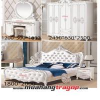Bộ giường tủ QUEENSTOWN-A22