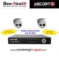 Combo camera Escort dành cho gia đình 2