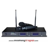 Dàn Karaoke 01 (Micro Music Wave HS-1515 - Cặp loa thùng Prodio KSP-680 - Amply Jarguar Suhyoung PA-503AB)