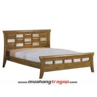 Giường gỗ tự nhiên Quang Phương G-006
