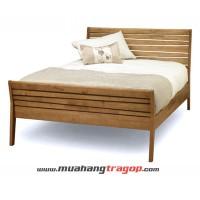 Giường gỗ tự nhiên Quang Phương G-009