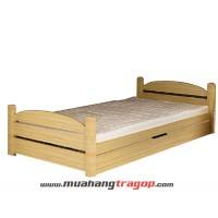 Giường gỗ tự nhiên Quang Phương G-010