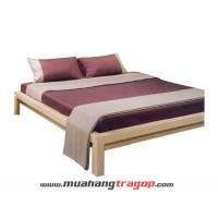 Giường gỗ tự nhiên Quang Phương K-010