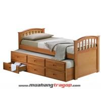 Giường gỗ tự nhiên Quang Phương K-011